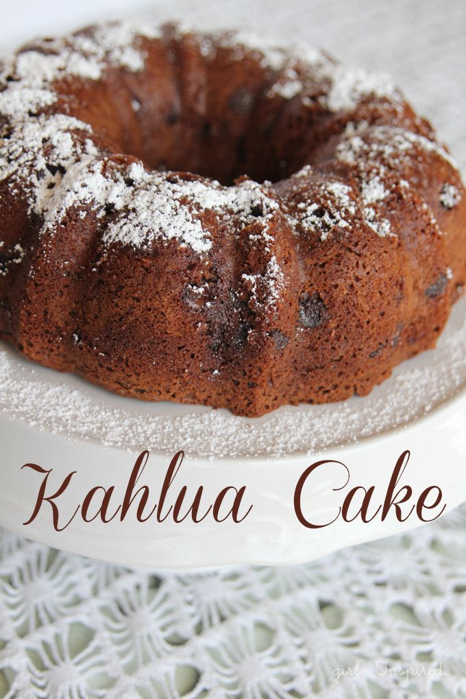 Chocolate Kahlua Cake - I made this and it is very good!! ....the easiest, richest, moistest chocolate cake you'll ever have!