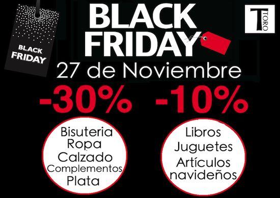 Vive el BLACK FRIDAY en TORO!!!