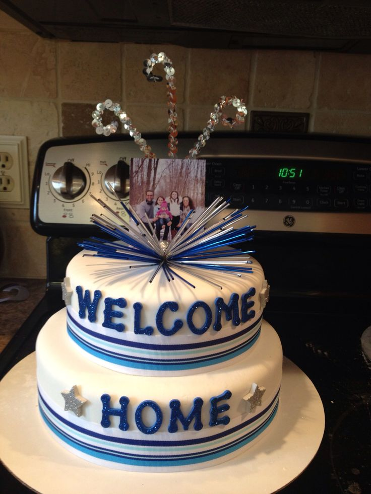 1000 ideas about welcome home cakes on pinterest for Welcome home cake decorations