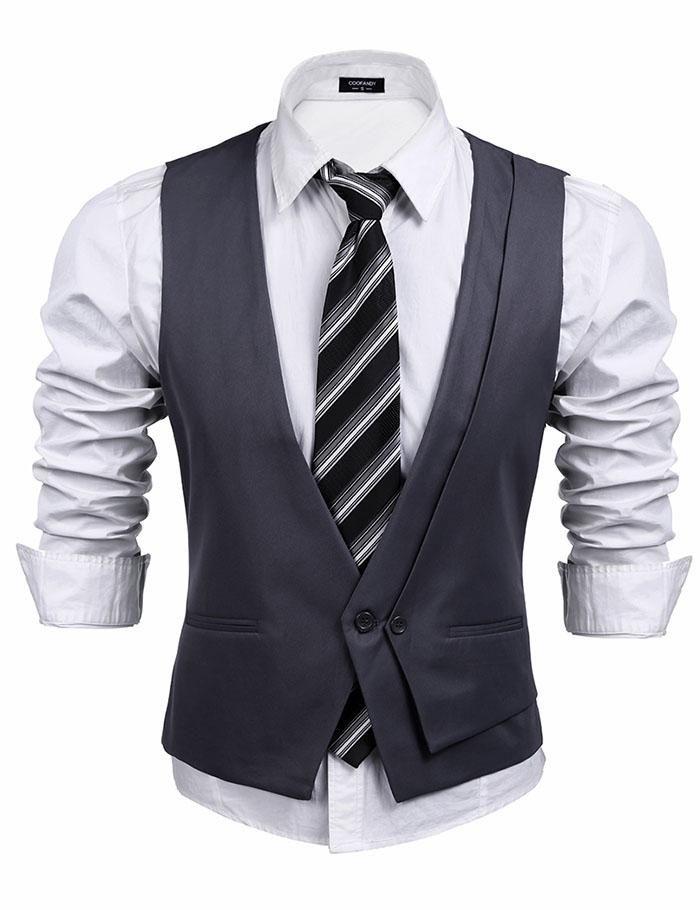 Premium Mens formal Waistcoat S,M,L,XL