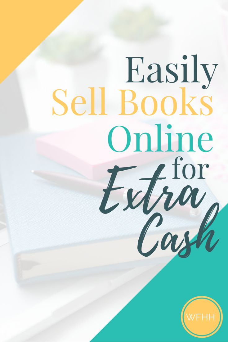 Sell books online and add to your income each month. Click through to learn how I use one easy-to-use (and free!) app to easily sell books online.