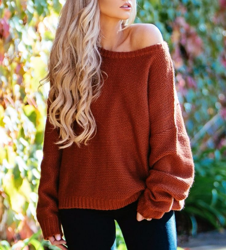 Bundle Up Burnt Orange Sweater at The City Blonde Store   Lookave - #orange #sweater #orangesweater #knitwear #ootd #onlineshopping #lookave #onlineshopping #streetstyle #style #fashion #outfit