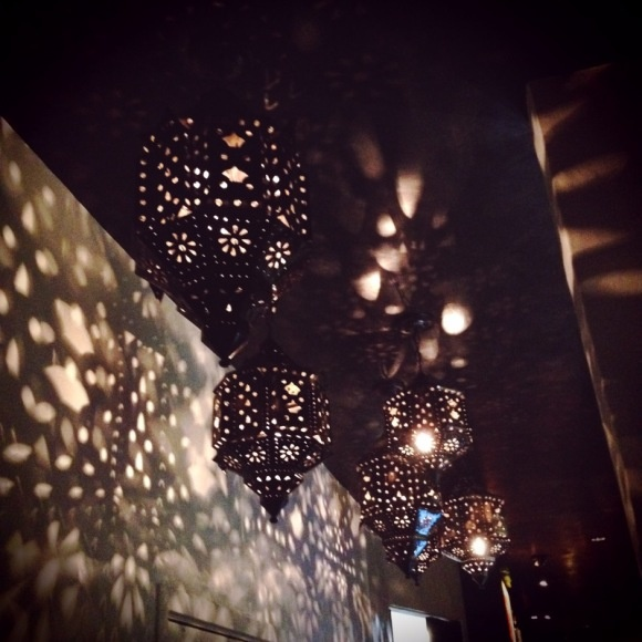 Tortilla Republic in West Hollywood, Chic mexican meets Tim Burton-esque design