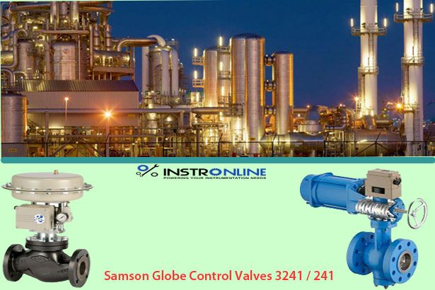 Samson offers premium German-engineered Globe Valves for industrial use.Samson Globe manipulate Valves 324i/241 are the end result of years of refined craftsmanship, with modular designs add-ons and patterns to meet every software requirement.Globe Valves from Samson are perfect for use in chemical petrochemical refinery, electricity, pharmaceutical, brewing, and meals processing packages.