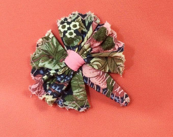Handmade Covered Hair Clip  - Annie Lane Boutique
