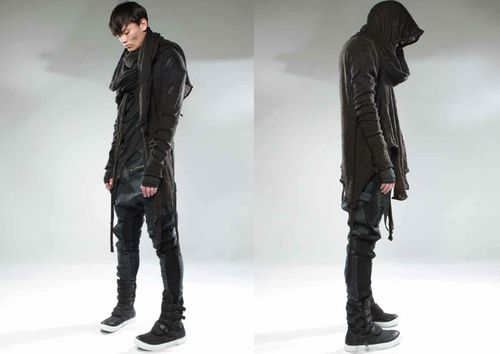 Goth Ninjas - Imgur: Gothninja, Demobaza Men, Style Inspiration, Black Fashion, Goth Fashion, Men Aw13, Men Fashion, Clothing Inspiration, Goth Ninjas
