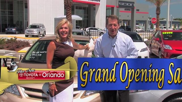 Find low Toyota Camry prices during the Grand Opening Sale at Toyota of Orlando! Remember, $99 down delivers so stop by!