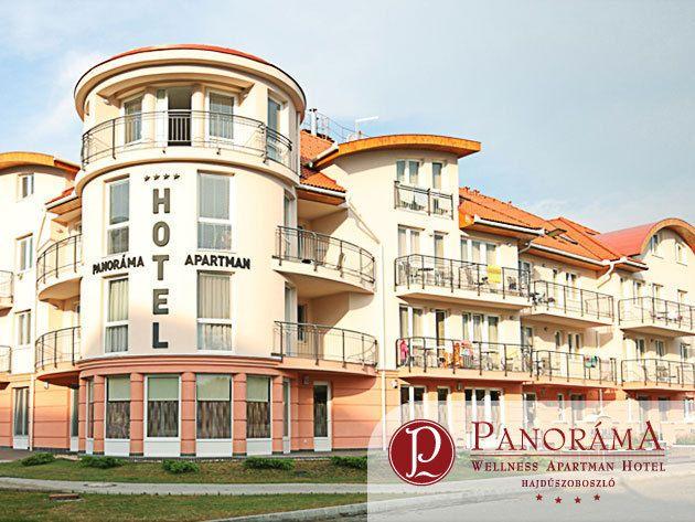 HAJDÚSZOBOSZLÓ - 3 nap/2 éjszaka szállás teljes ellátással és extrákkal 2 fő részére, a Panoráma Wellness Apartman Hotelben****