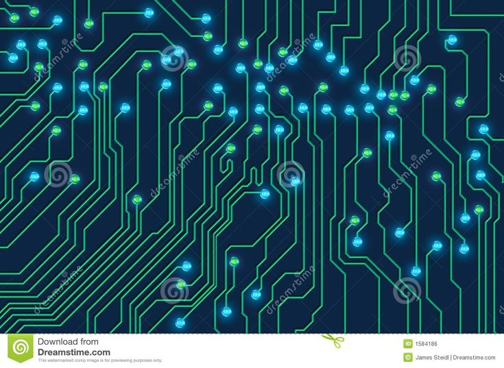 High Technology Printed Circuit Board With Glowing Led Lights Stock