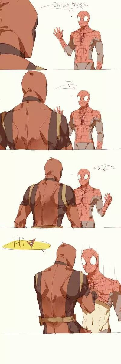 Ah the actions taken by Deadpool, classic.