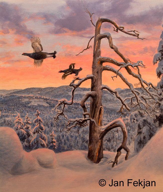Jan Fekjan: Vintermorgen 1