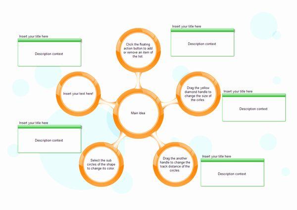 Circle Flow Chart Template Inspirational Circle Spoke Diagram Modify The Circle Spokes Easily In 2020 Flow Chart Template Process Flow Chart Template Flow Chart