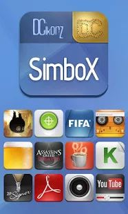 Glossy and shiny! SimboX Nova Go Theme