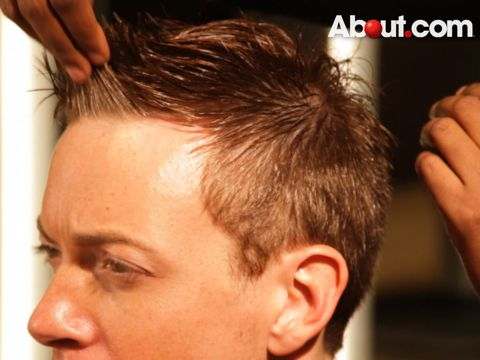 how to make hairline look thicker