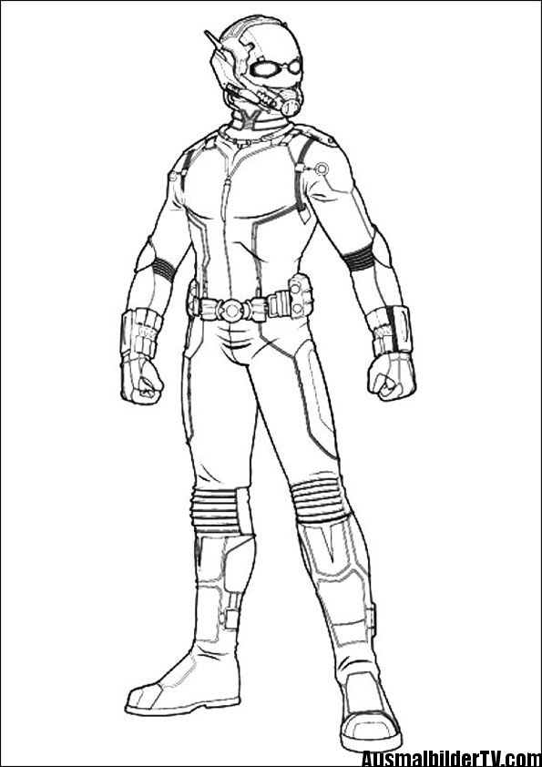 Ausmalbilder Von Ant Man Marvel Coloring Pages Ausmalbilder