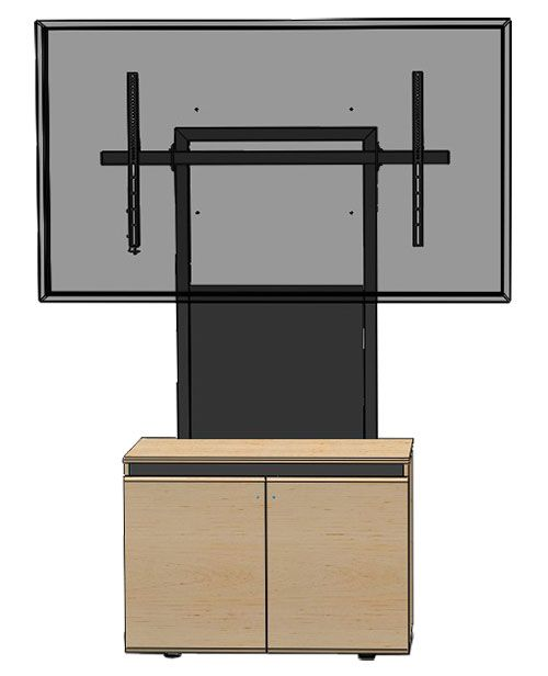 CRM-XXL Heavy Duty Stand For Extra Large Monitors
