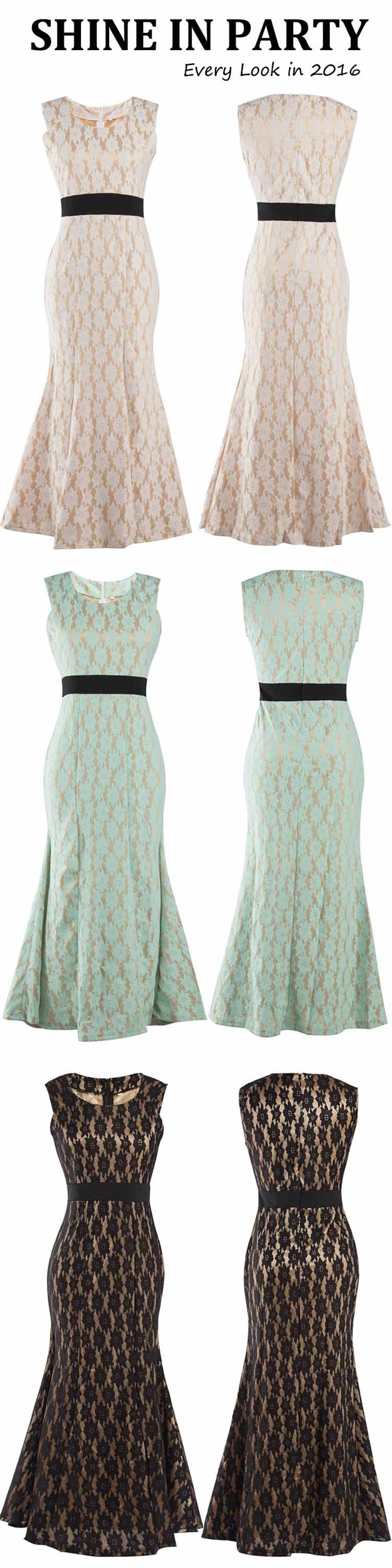 Take short time now & $24.99 to get this fishtail maxi dress! Its mermaid style suits for many occasions in the holiday. Can't wait to get it at Cupshe.com !