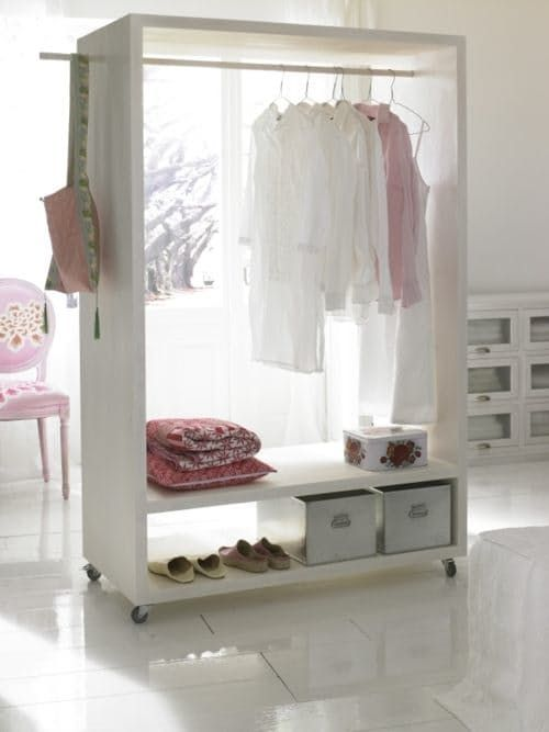 You Can Conquer Your Clothing Storage Without a Closet. Here are 6 Strategies.