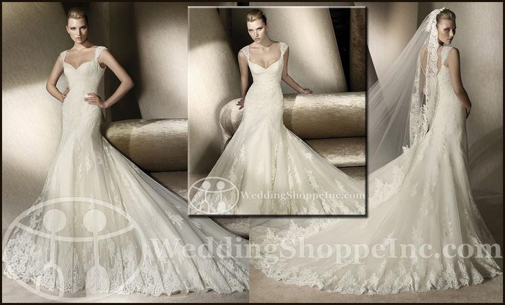 san patrick cobalto | ... San Patrick Bridal Dresses: Order your San Patrick wedding gown at WSI