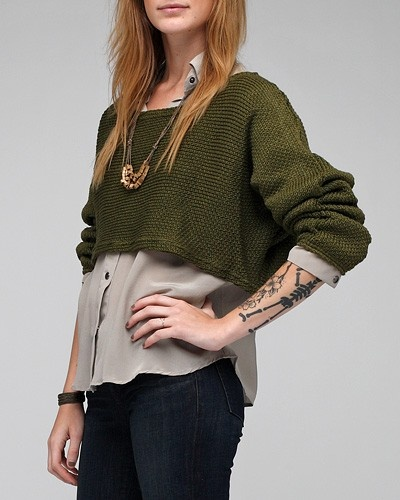 17 Best images about Cropped Sweater Outfits on Pinterest ...