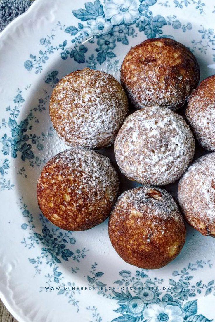 Sunde æbleskiver – glutenfri opskrift uden sukker