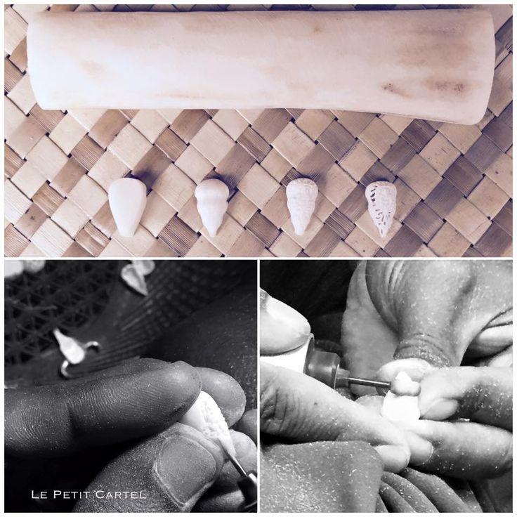 L'atelier création - Étape 2  #lepetitcartel #workinprocess #bijoux #têtedebete #récupération #bague #faitmain #exception #worldwild