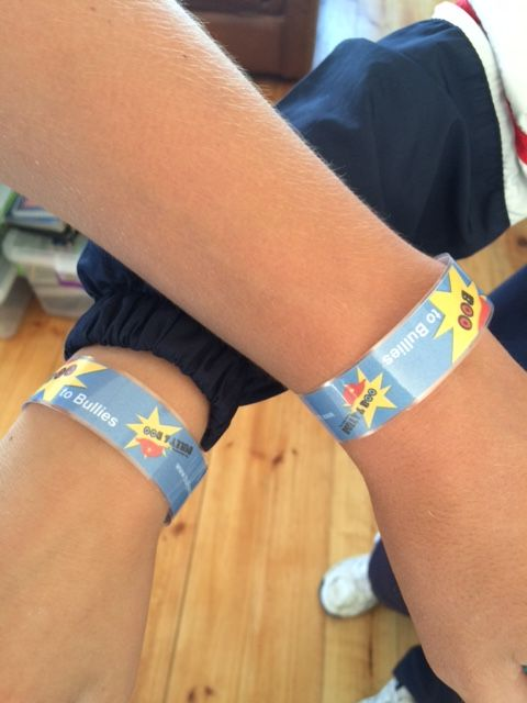 Armbands for International Anti-Bullying Week 2016, International Anti-Bullying Week, The Adventures of Bully & Boo, Interactive Comic Strips, Empathy prevents Bullying
