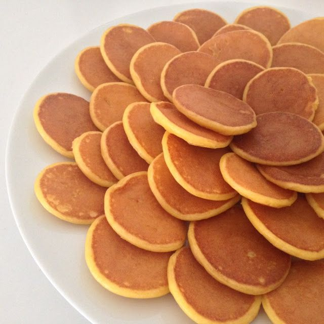 I swear by these pancakes. My baby girl loves them and they have no sugar added at all. They are great to use up all the leftover baby cere...
