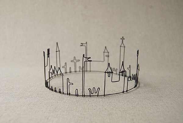 Crown: Idea, Wire Sculpture, Wire Work, Princesses Crowns, Artsy Crafty, Wire Crowns, Castles Crowns, Wire Art, Diy