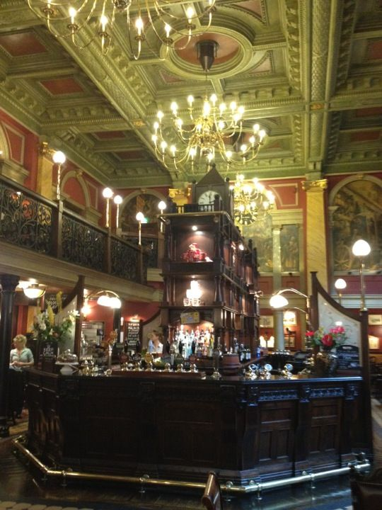 LONDON, UK: THE OLD BANK OF ENGLAND. Historic building which is now a good pub to while away a few hours in The City