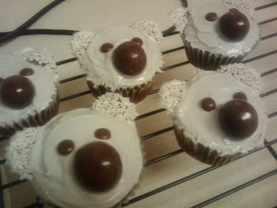 koala cupcakes I made for my cousin