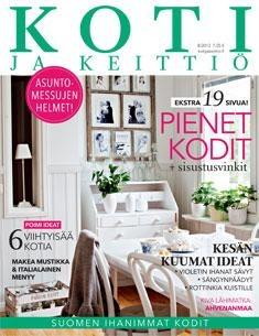 Entressen kirjaston Elokuun 2012 lehtiteema on: Koti ja keittiö