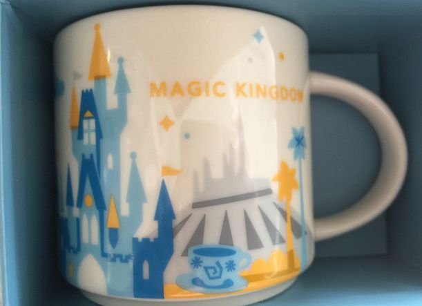 Disney Finds - Starbucks you are here mugs