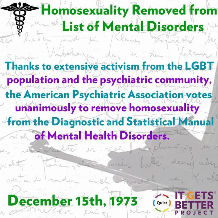 American Psychiatric Association Removes 'Homosexuality' from DSM