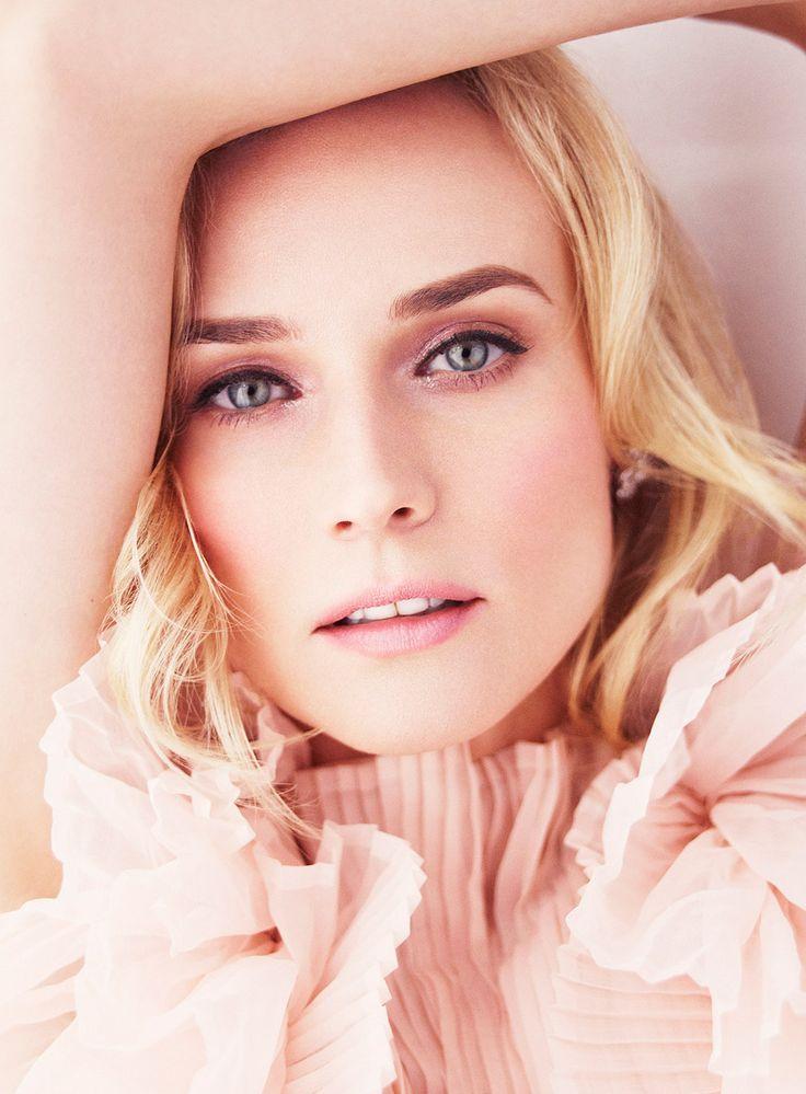 Diane Kruger: Face, Simon Emmett, Makeup, Glamour Uk, Beautiful, Beauty, Diane Kruger
