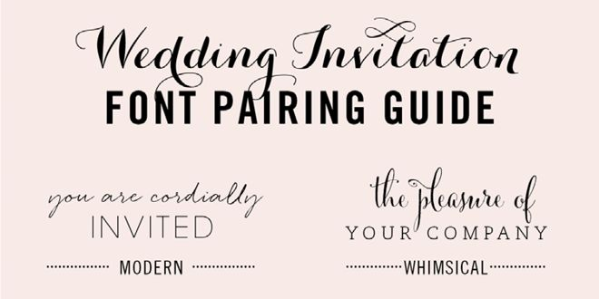 Popular Fonts For Wedding Invitations: Best 25+ Invitation Fonts Ideas On Pinterest