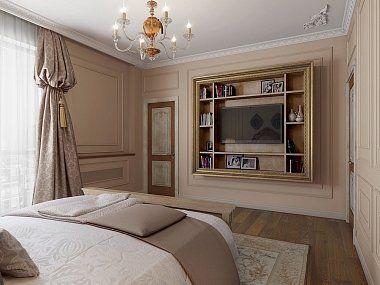 Трехкомнатная квартира в классическом стиле, ЖК «Дом на Дворянской», 133 кв.м.