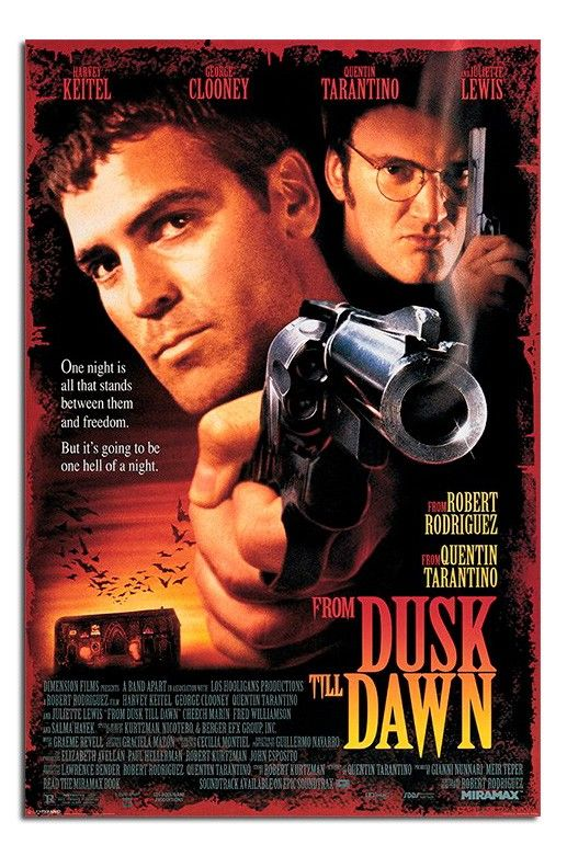 From Dusk Till Dawn George Clooney Poster