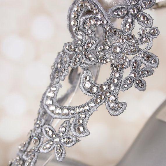 Design Your Own Wedding Shoes Ivory by EllieWrenWeddingShoe