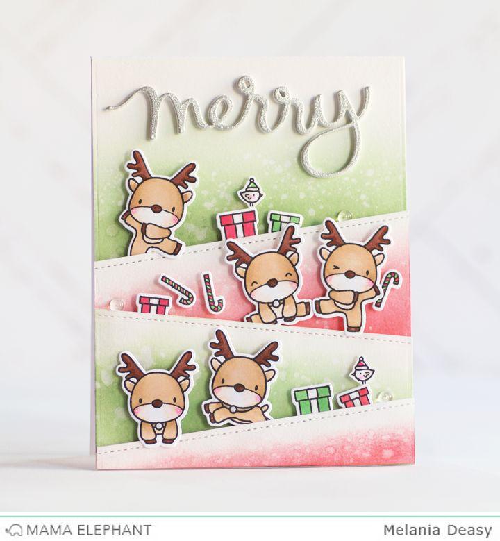 22 best Mama Elephant images on Pinterest   Christmas cards ...