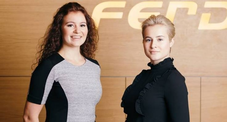 Alexandra Andresen, de 20 años, y su hermana Katharina, de 21 años, multimillonarias