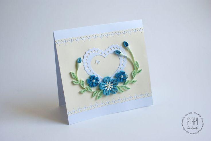 kartka na rocznicę flowers