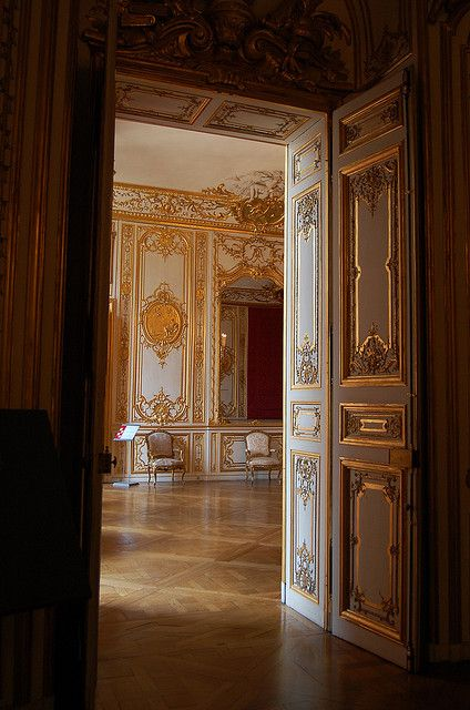 Hotel de Suboise. Cream and gold was the luxury of the ...