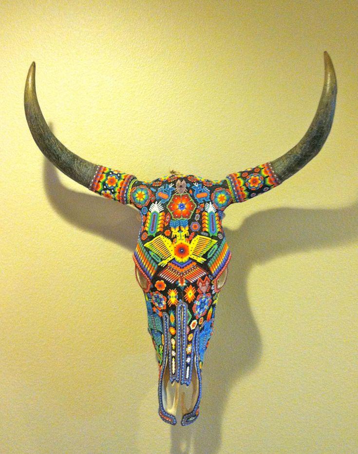 RESERVED for JAN Vintage Huichol Beaded por smartysfunstuff