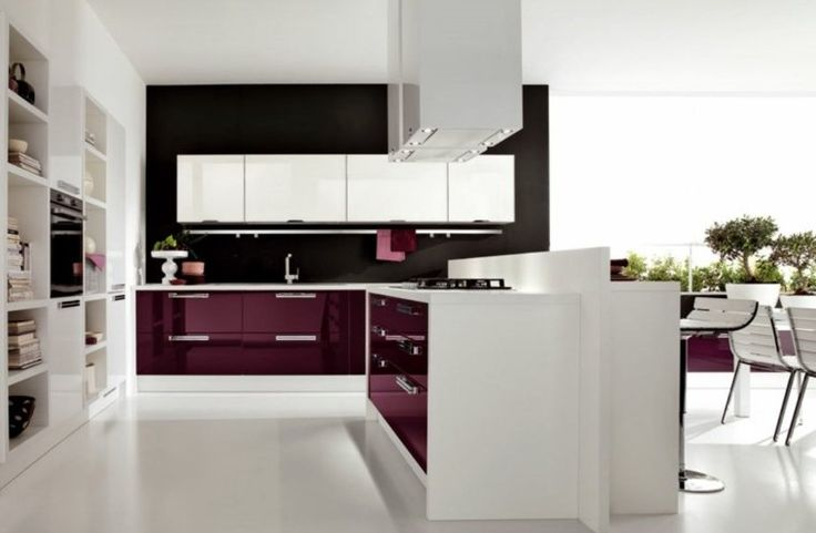ikea meuble cuisine pas cher ilot central idée hotte aspirante design
