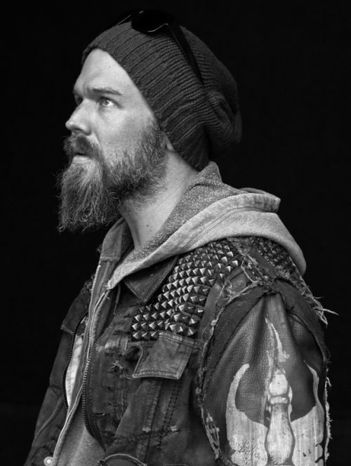 Sons of Anarchy... Someone once said Josh looks like him! Love it!