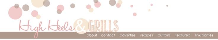 High Heels & Grills: Cinnamon Roll Bites