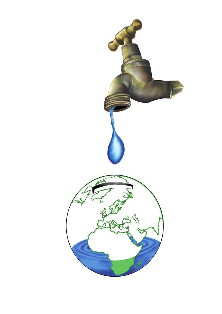Avui a l'#actuem: cal que tanquem les aixetes mentre no fem servir l'#aigua Una aixeta oberta raja a 10 l/min