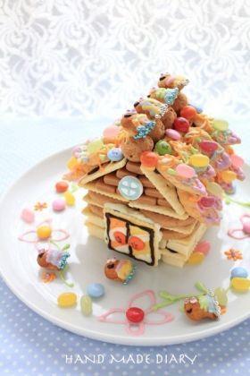 お菓子の家」もそ | お菓子・パンのレシピや作り方【corecle*コレクル】
