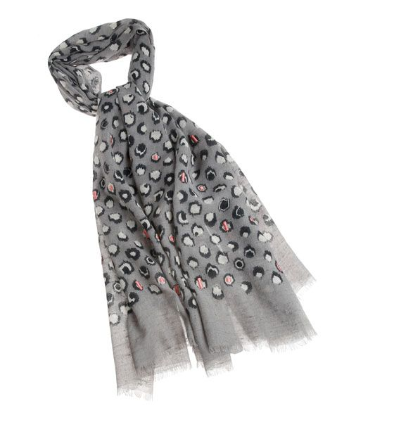 Sjaal met luipaardprint #Wool #Scarf #Leopard #Gigue #AW16 #FallCollection #NewArrivals #GigueAW16